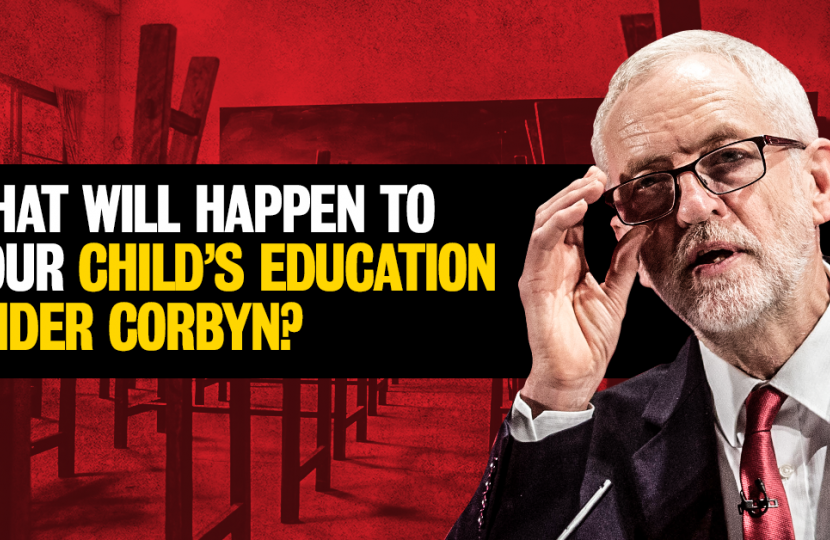 Less safe, more strain, fewer opportunities – new analysis reveals what will happen to your child's education under Corbyn